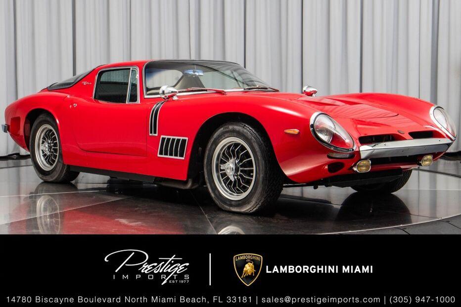 1968_Bizzarrini_GT Strada 5300__ North Miami Beach FL