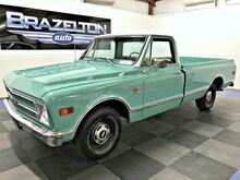 1968_Chevrolet_C10_LWB, 327 V-8, Frame-on Rebuild_ Houston TX