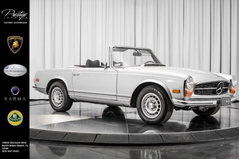 1968_Mercedes-Benz_280SL Convertible__ North Miami Beach FL