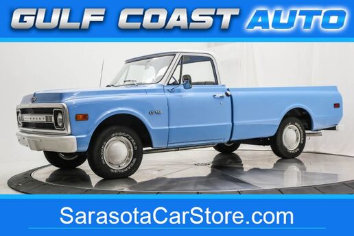 1969 Chevrolet C-10 ANTIQUE TRUCK RUNS GREAT RUST FREE C10 REGUALR CAB Sarasota FL