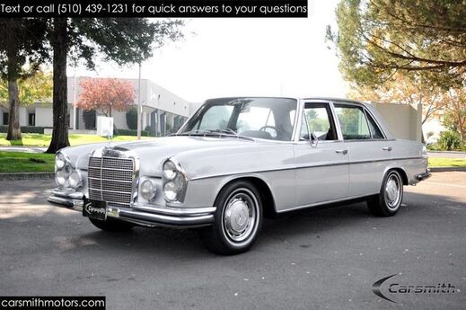 1969 Mercedes-Benz 300 SEL 6.3 VERY RARE! Restored & Ready for the Open Road! Fremont CA
