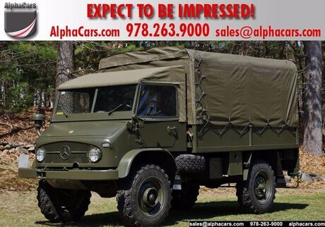 1969 Mercedes-Benz Unimog 404 Swiss Army Troop Carrier Boxborough MA