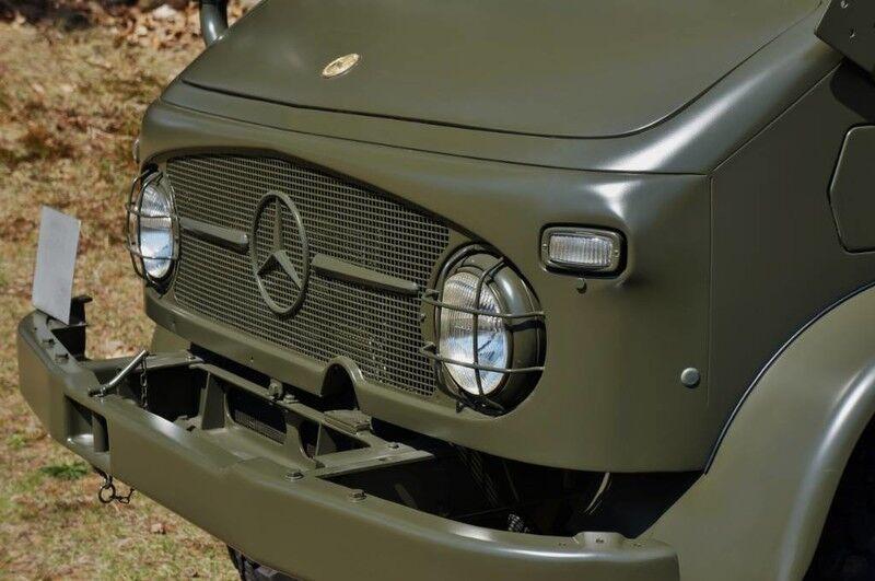 1969 Mercedes-Benz Unimog 404 Swiss Army Troop Carrier Boxborough MA