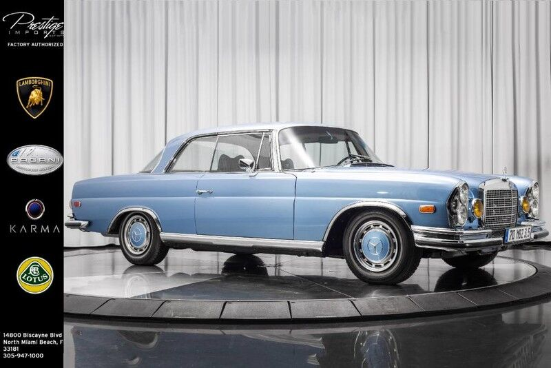 1970_Mercedes-Benz_280 SE_Coupe 3.5_ North Miami FL