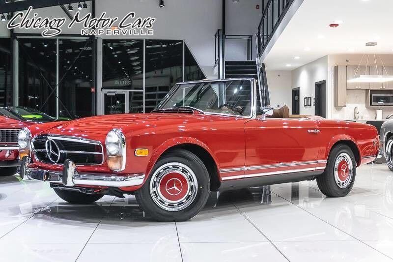 1970 Mercedes-Benz 280 SL Convertible Chicago IL