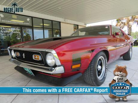 1971 FORD MUSTANG Mach 1 Newport NC