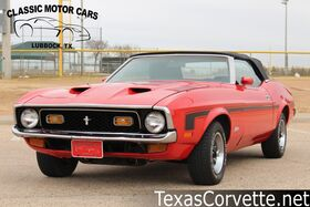 1971_Ford_Mustang_Convertible_ Lubbock TX
