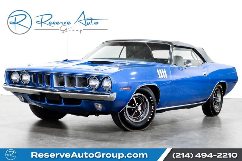 1971 Plymouth Barracuda  The Colony TX
