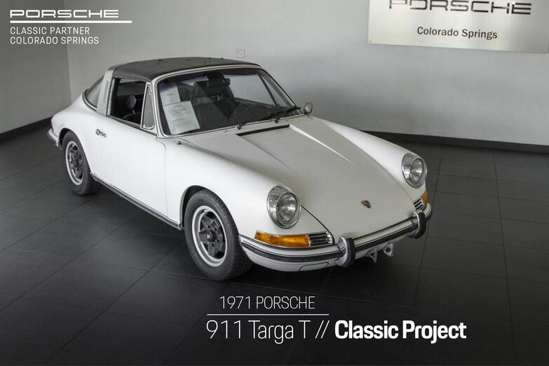 1971 Porsche 911 911 T Targa Colorado Springs CO