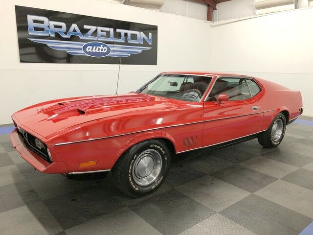 1972 Ford Mustang Mach 1, All Original, 1-Owner, 88k Miles, Full Records Houston TX