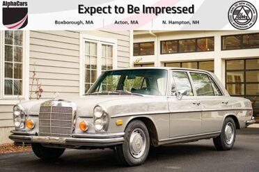 1972_Mercedes-Benz_280SEL_4.5 W108_ Boxborough MA
