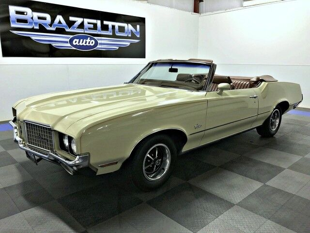 1972 Oldsmobile Cutlass Supreme Convertible, Unrestored Original Condition, Well Documented Houston TX