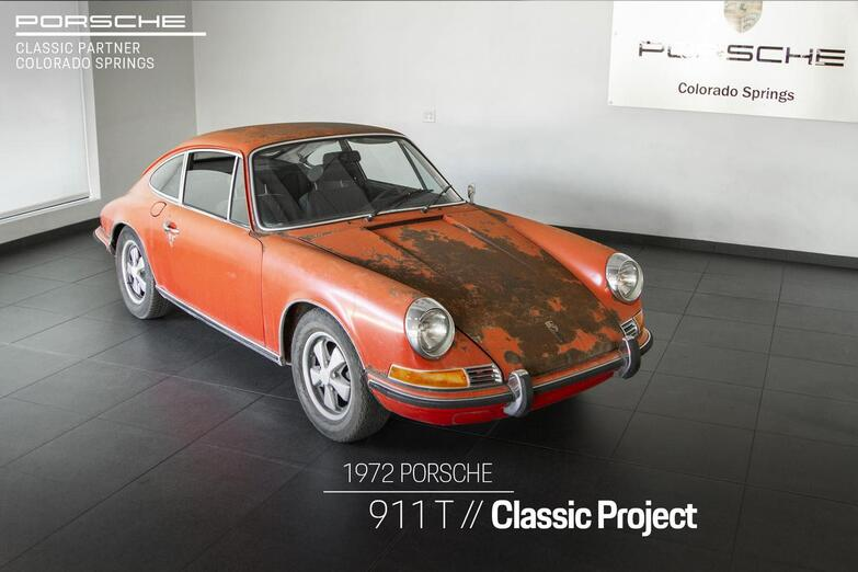 1972 Porsche 911 T Colorado Springs CO