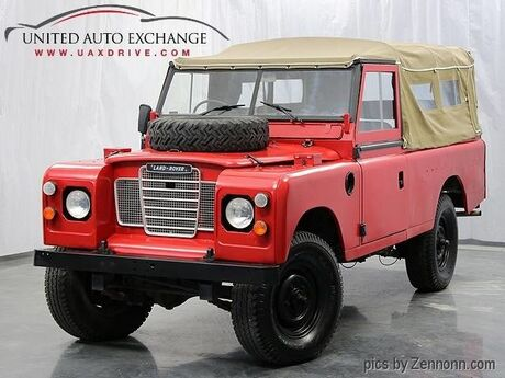 1974 Land Rover Defender 109 Series 3 Addison IL
