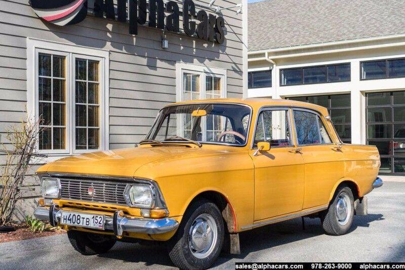 1974 Moskvitch 408E Sedan Boxborough MA
