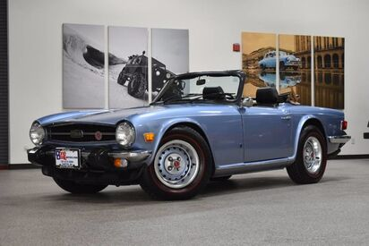 1974_Triumph_TR6__ Boston MA
