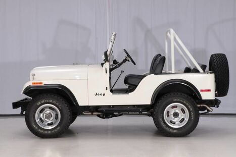 1975_Jeep_CJ-5 4WD_3MT_ West Chester PA
