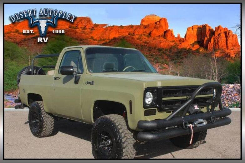 1976 GMC Jimmy Custom 4X4 SUV Mesa AZ