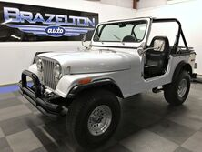 Jeep CJ-7 Fully Redone, 4.2L 6-cyl, 3-spd, Nice Upgrades 1976