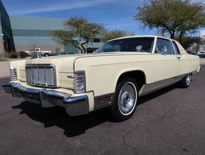 1976_Lincoln_Continental_Town Coupe_ Scottsdale AZ