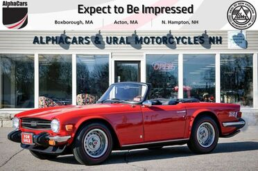 1976_Triumph_TR6_Roadster_ Boxborough MA