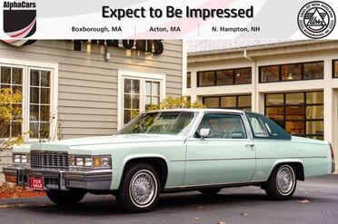 1977_Cadillac_Coupe_DeVille_ Boxborough MA