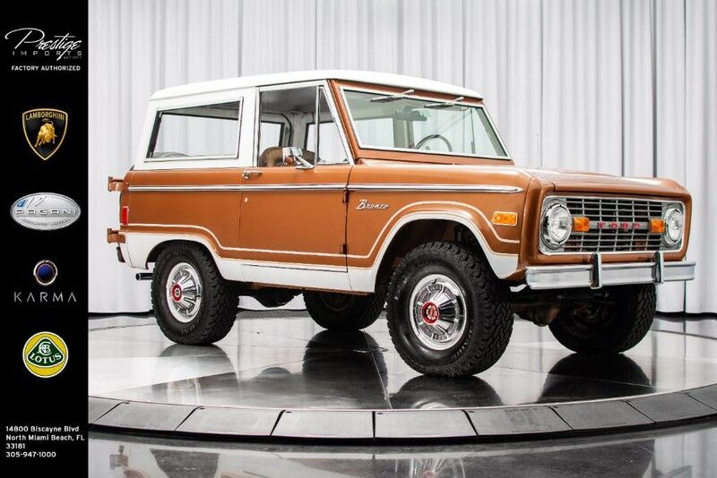 1977_Ford_Bronco__ North Miami Beach FL