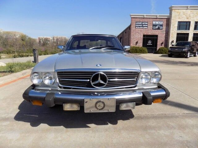 1977 Mercedes-Benz 450SL 2 Tops with Hard Top stand Carrollton TX