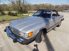 1977_Mercedes-Benz_450SL_2 Tops with Hard Top stand_ Carrollton TX