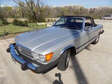 Mercedes-Benz 450SL 2 Tops with Hard Top stand 1977