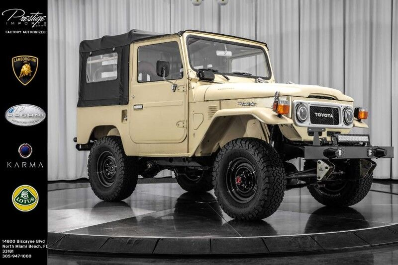 1977_Toyota_LAND CRUISER__ North Miami Beach FL
