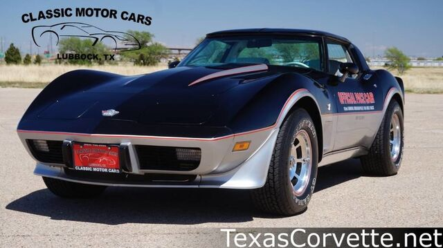 1978 Chevrolet Corvette 25th Anniversary Pace Car Lubbock TX