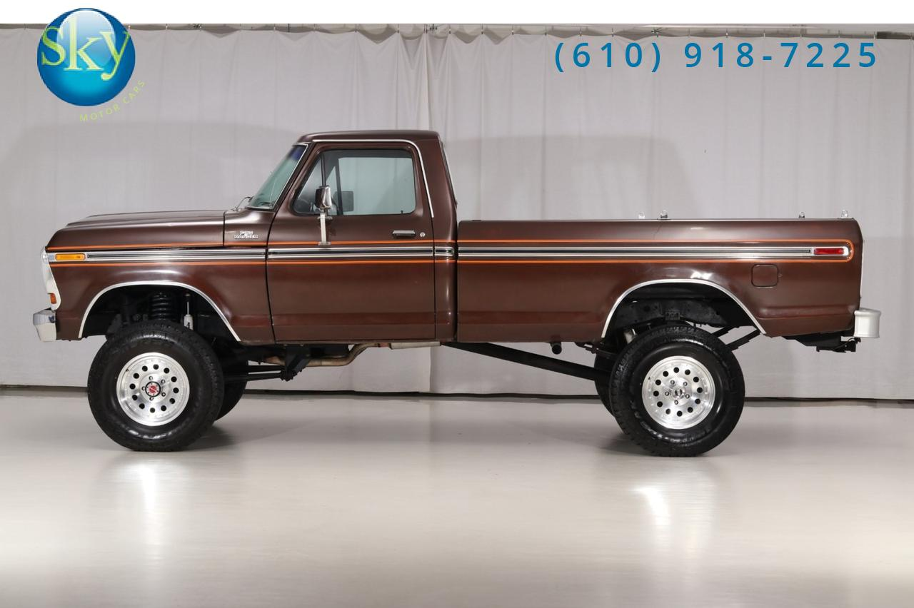 1978 Ford F-150 Ranger Single Cab 4X4 West Chester PA