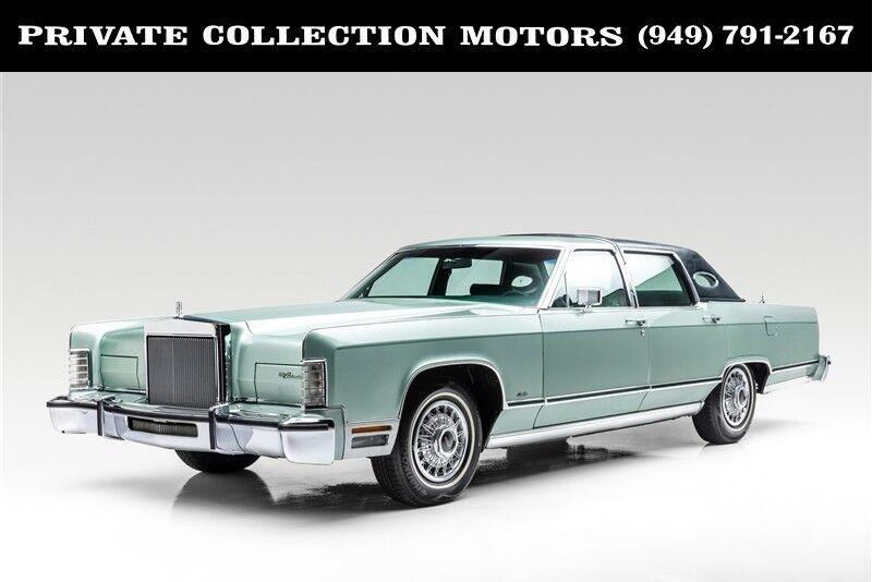 1978 Lincoln Continental Town Car 4D SDN Costa Mesa CA
