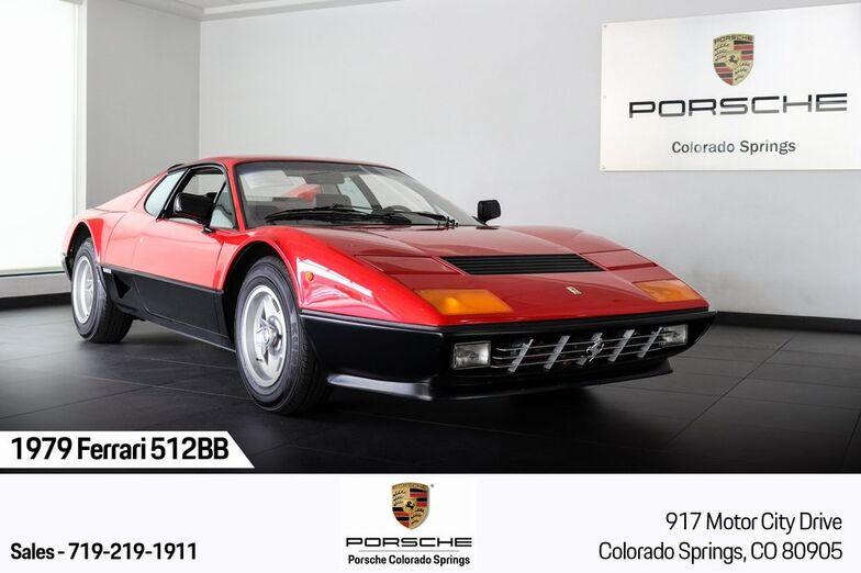1979 Ferrari 512 BB 1 Colorado Springs CO