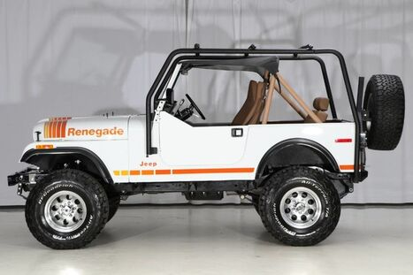 1979_Jeep_Wrangler 4WD_CJ-7 Renegade_ West Chester PA