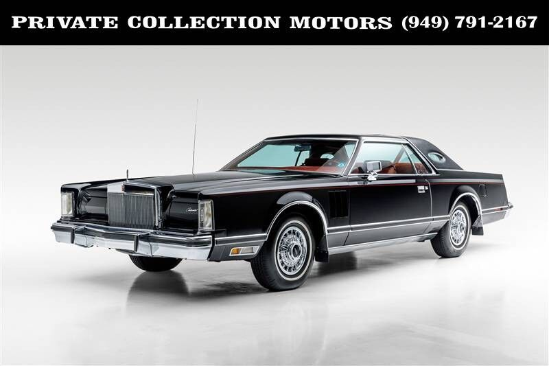 1979 Lincoln CONTINENTAL MARK V 1 OWNER 4K ORIGINAL MILES Costa Mesa CA