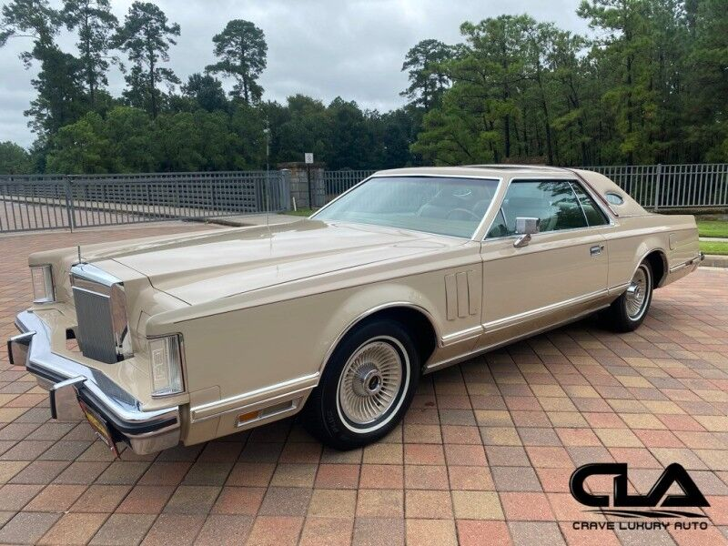 1979 Lincoln Continental Cartier edition The Woodlands TX