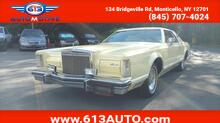 1979_Lincoln_Continetal_Mark V_ Ulster County NY