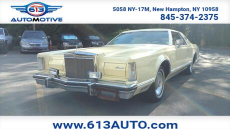 1979 Lincoln Continetal Mark V Ulster County NY
