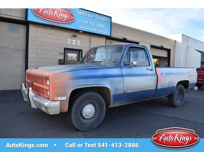 1981 Chevrolet Pickup 2WD C10 Long Bed Bend OR