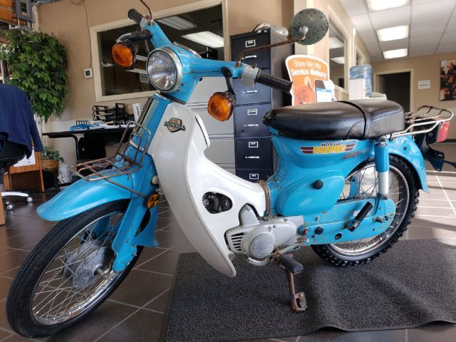 1981 Honda C70 Passport Spokane Valley WA