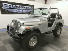 1981_Jeep_CJ-5_Novak Conversion 350 V8 & SM465 Tranny, Complete Restoration_ Houston TX