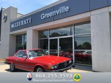 1981_Mercedes-Benz_380 Series_380SL_ Greenville SC