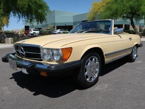 Mercedes-Benz 380SL Convertible 1981