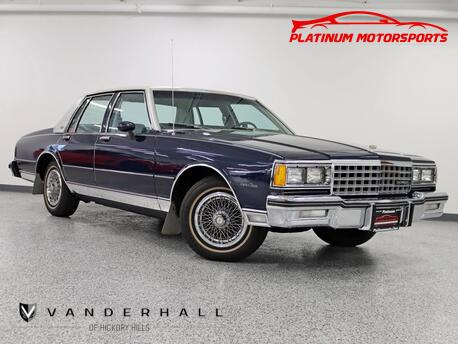 1982_Chevrolet_Caprice Classic_A True Time Capsule 3K Miles Never Titled Full Landau Top Cleanest In The Country_ Hickory Hills IL
