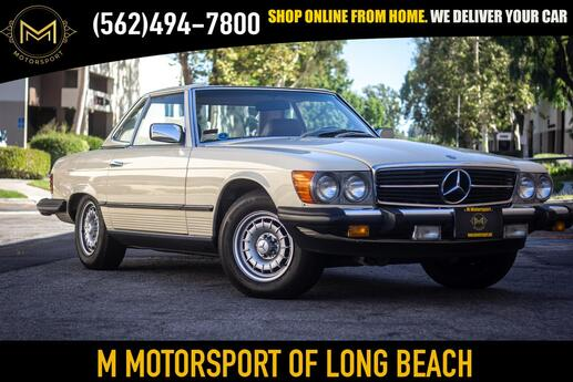 1982 Mercedes benz 380 SL 380SL Long Beach CA