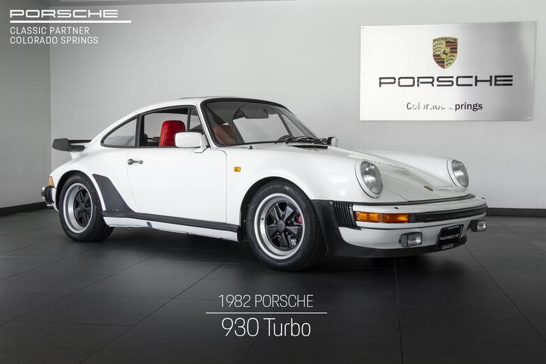 1982 Porsche 911 911 930 Turbo Colorado Springs CO