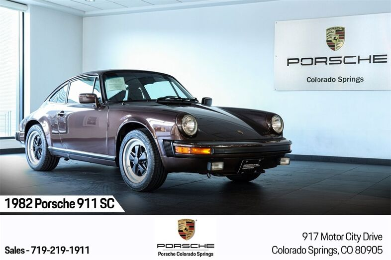 1982 Porsche 911 SC Colorado Springs CO