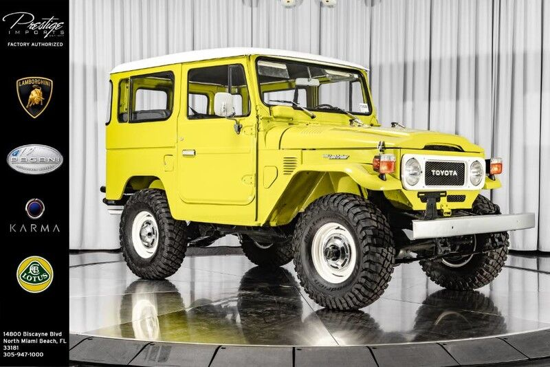 1983 Toyota Land Cruiser FJ40 North Miami Beach FL
